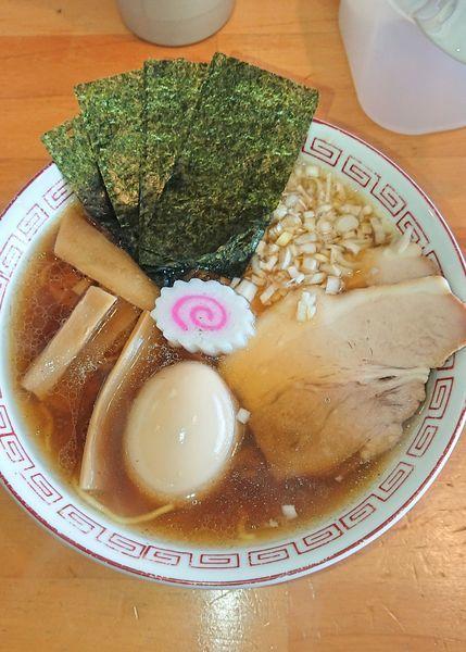 「特製 鶏だし中華そば」@麺屋 くおんの写真