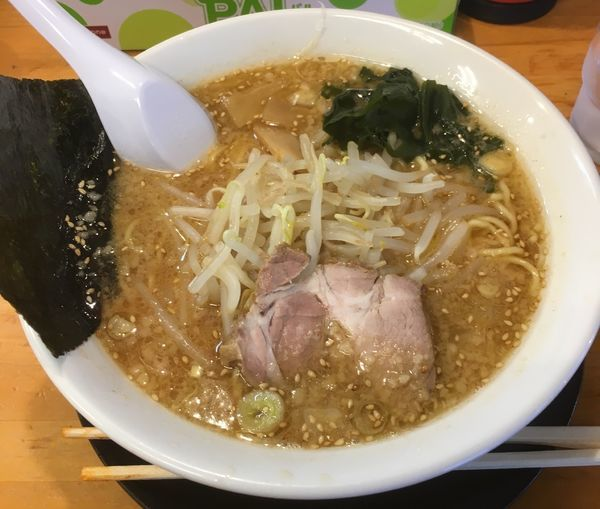 「味噌らーめん(670¥)」@ラーメンショップ椿 二本松店の写真