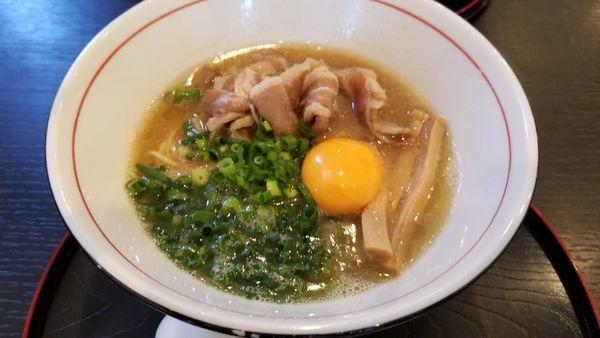 「限定麺 徳島らーめん」@麺や 阿吽の写真