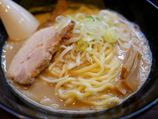 「味噌 太麺+大盛」@ラーメン長山の写真