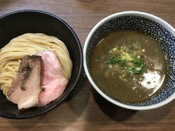 「極濃煮干しつけ麺」@煮干しつけ麺 宮元の写真