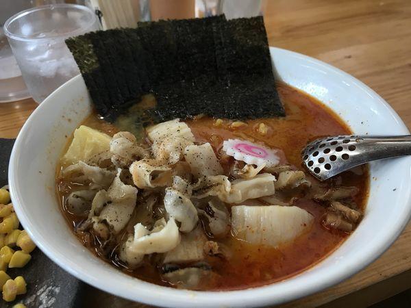 「ほたてバターラーメン【辛みそ味】」@じゅんちゃんラーメンの写真