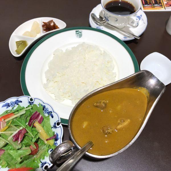 「新宿中村屋伝統のインドカリーセット」@洋食レストラン 新宿中村屋 東武池袋店の写真