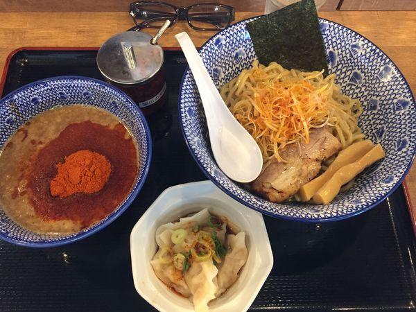 「辛魚つけ麺」@つけ麺二代目YUTAKA 周南店の写真