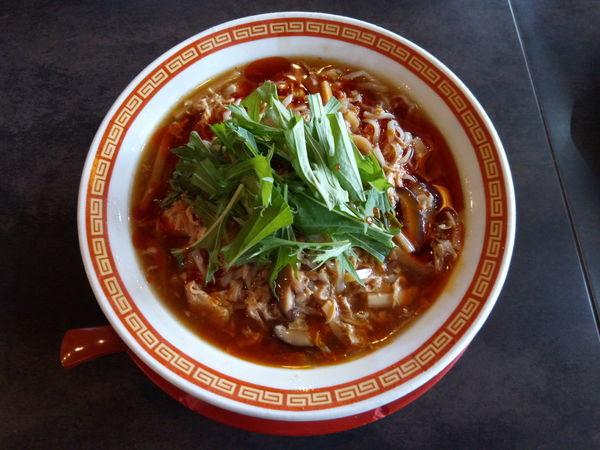 「冷やし酸辣湯麺」@麺厨房ばんぶる OH-BAN-BURU-MAI 東川口店の写真