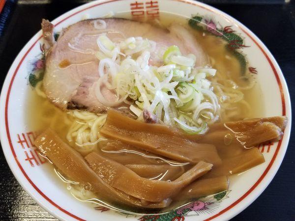 「煮干しラーメン(塩)」@青森大勝軒の写真
