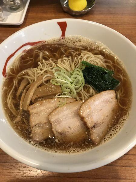 「醤油ラーメン+大盛(¥500+¥100)」@麺&cafe Coi.Coi.の写真