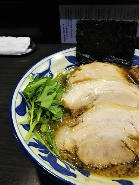 「正油ラーメン 並¥780」@ラーメンつけ麺 奔放の写真