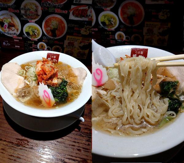 「『冷やしラーメン+大盛(税別¥730+150)』」@らぁ麺 夢のやの写真