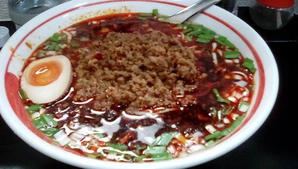 「[限定]台湾ラーメン」@自家製麺SHINの写真