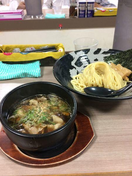 「つけ麺(あっさり醤油味)780円」@越後つけ麺維新 大井町店の写真