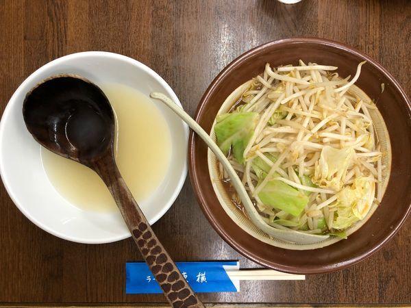 「野菜みそ」@ラーメン 東横 笹口店の写真