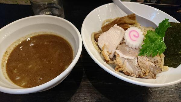 「濃厚煮干つけ麺(800円)」@つけ麺 弐☆゛屋の写真