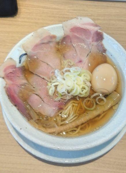 「淡竹 HACHIKU & 煮玉子」@麺屋 優光の写真