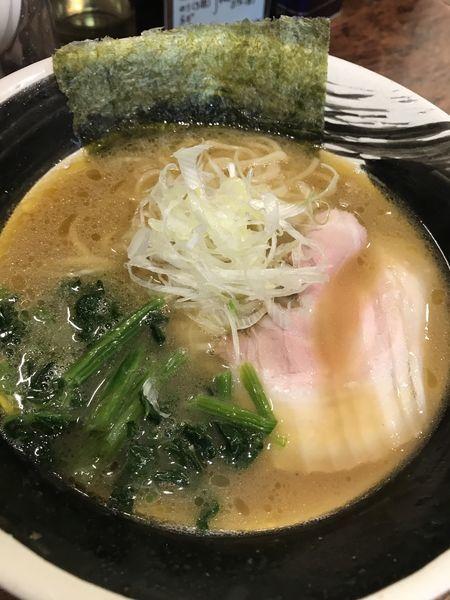 「豚骨ラーメン 細麺」@ラーメン 山虎商店∞の写真