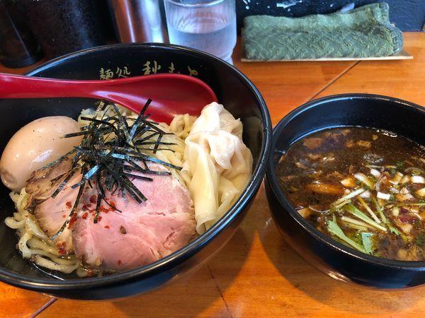 「特製鰹醤油つけ麺」@麺処 秋もとの写真