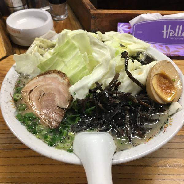 「キャベツメン」@熊本らーめん 育元の写真