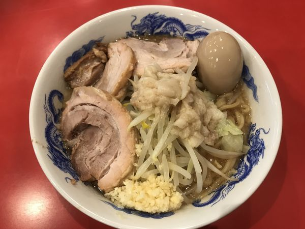 「豚玉ラーメン +2豚増し」@ドン-キタモトの写真