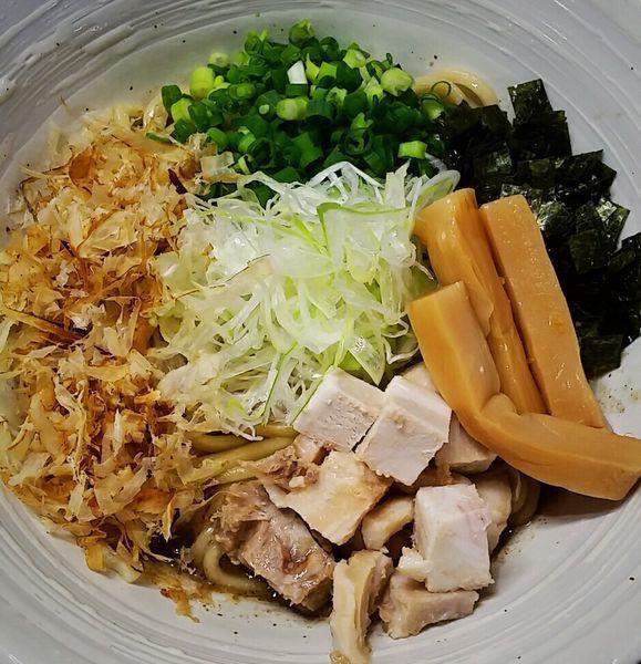 「煮干まぜそば 800円(追い飯付)」@三代目 むじゃきの写真