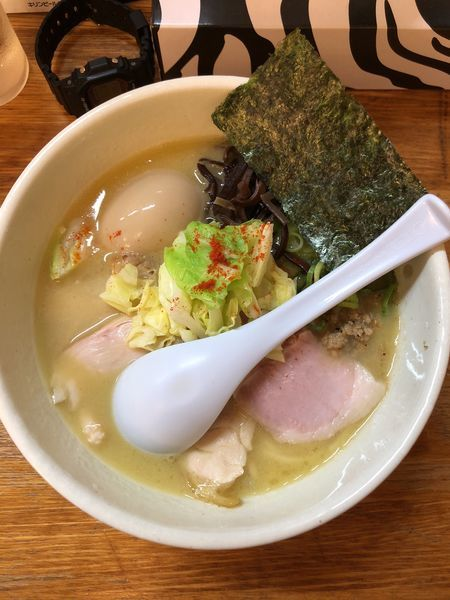 「特製鶏白湯塩ラーメン」@麺や 福一の写真