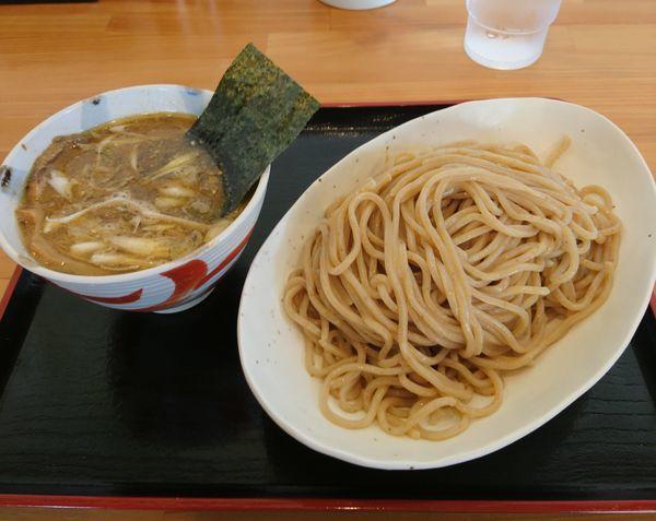 「月木曜日 煮干しつけ麺」@らーめん マル汁屋の写真