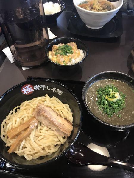 「極濃煮干しつけ麺」@極煮干し本舗 蘇我店の写真