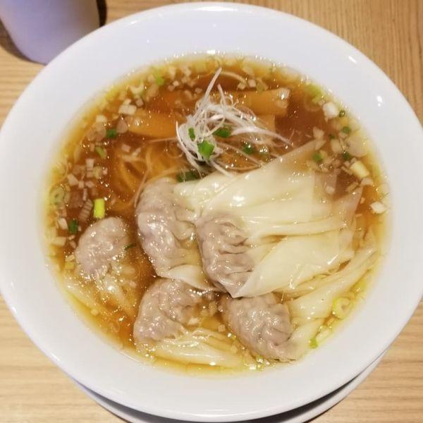 「わんたんめん」@中華そば 龍の眼 Produced by 創作麺工房 鳴龍の写真
