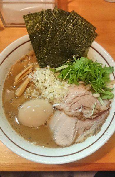「特製魚介豚骨ラーメン」@麺屋 くおんの写真