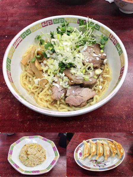 「チャーシュー宝そばセット+餃子」@宝華の写真