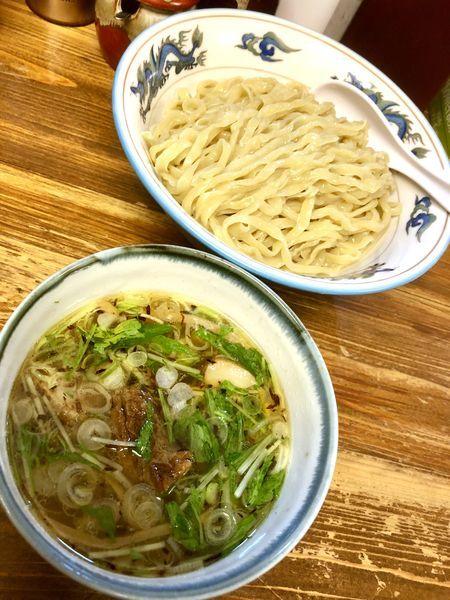 「つけ麺 塩 大 (300g) ¥850」@くじら食堂の写真