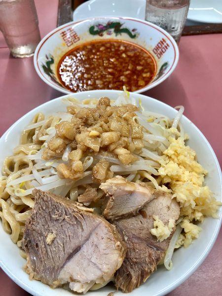 「味噌つけ麺」@ラーメン荘 おもしろい方への写真