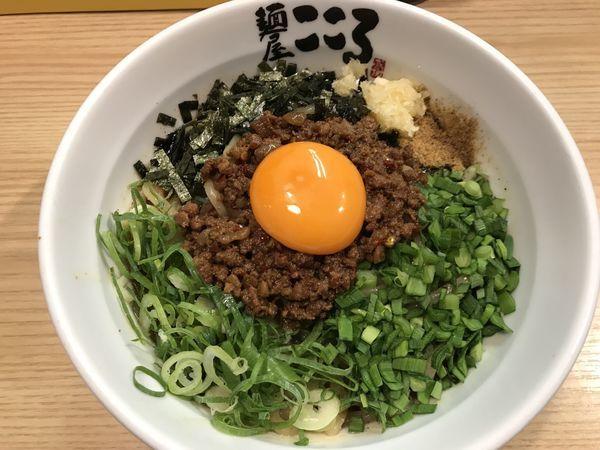 「台湾まぜそば 大盛り」@麺屋 こころ 大岡山本店の写真