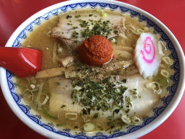 「赤湯からみそラーメン」@龍上海 鶴岡店の写真