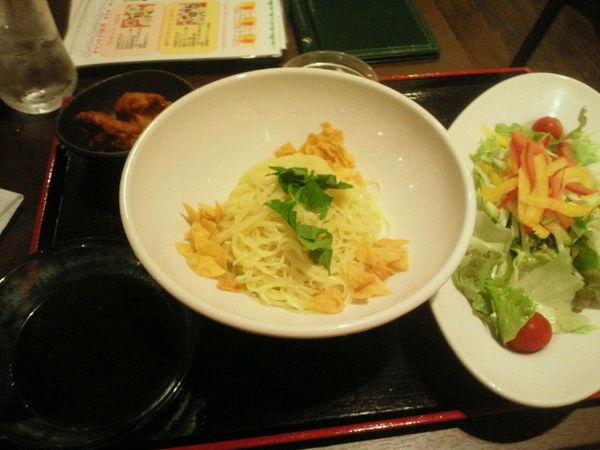 「野菜冷麺(醤油ダレ)920円」@中国料理レストラン 泰山の写真