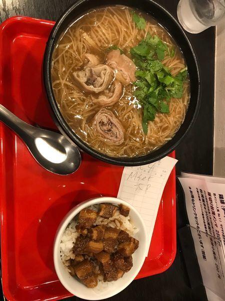 「麺線セット 950円」@台湾麺線の写真