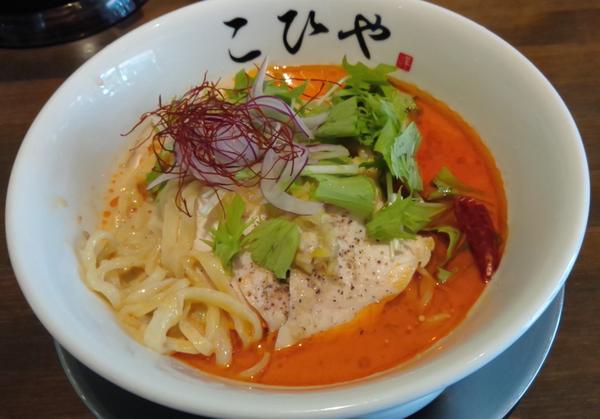 「【夏季限定】冷やし担々麺 ¥880」@川越らーめん こひやの写真
