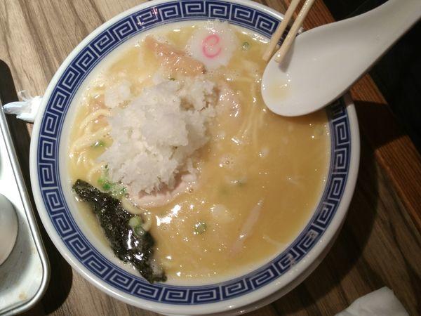 「らーめん鶏」@麺屋ジャイアン弐の写真