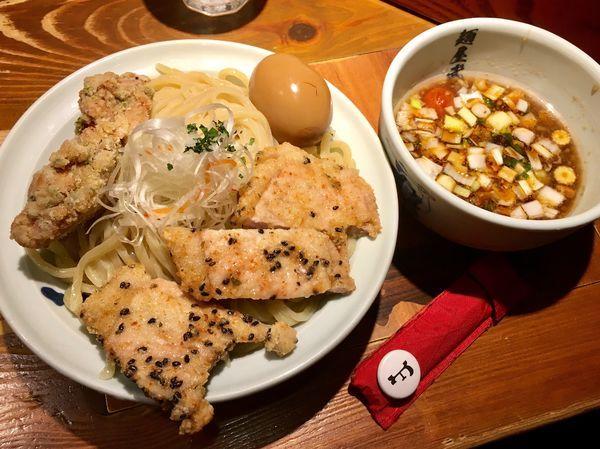 「冷し二天つけ麺」@麺屋武蔵 二天の写真