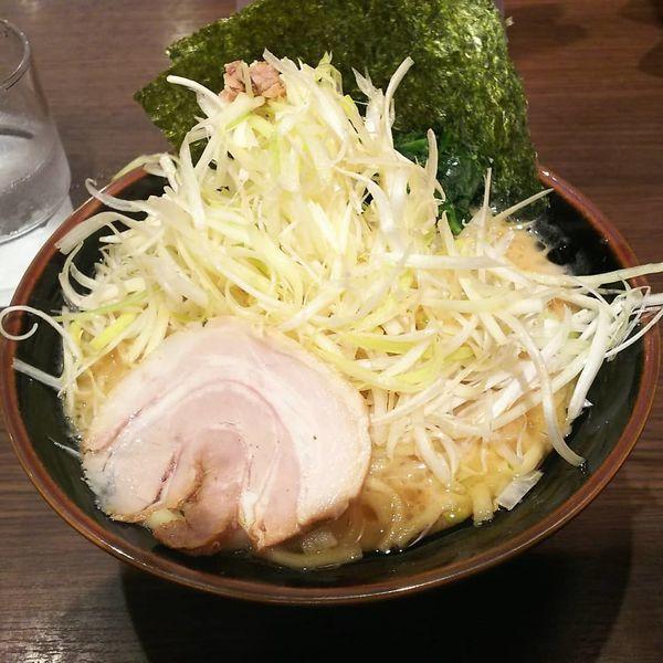 「とんこつ醤油ネギラーメン  830円」@横浜家系ラーメン 百家の写真
