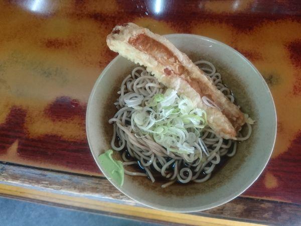 「ちくわ天蕎麦 冷 410円」@そば千 東神田店の写真