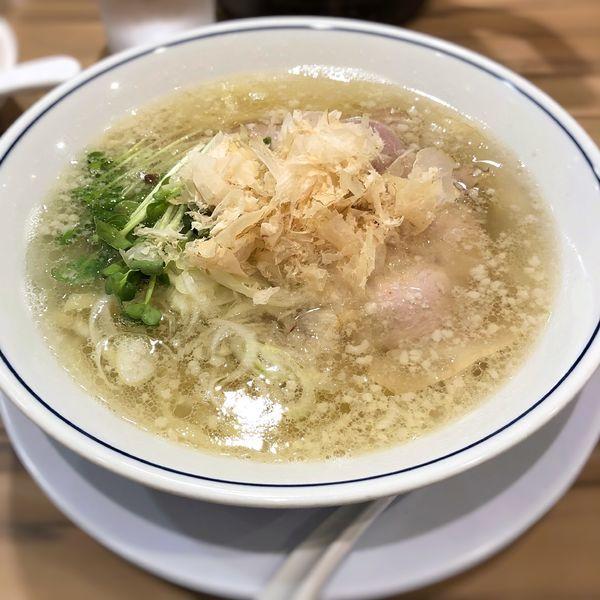「塩ラーメン」@らーめん鱗 西中島店の写真