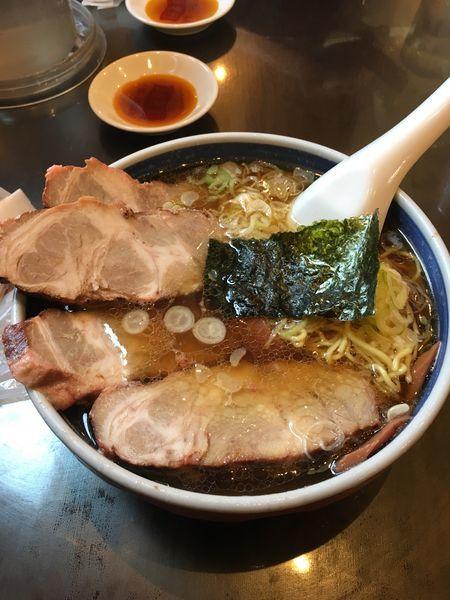 「チャーシュー麺」@蓬来軒 本店の写真
