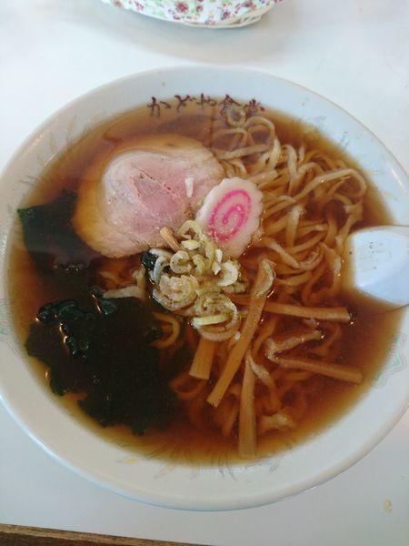 「ラーメン 550円」@かどや食堂の写真