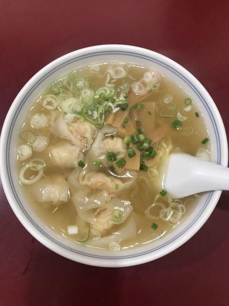 「海老ワンタン麺」@喜久の写真