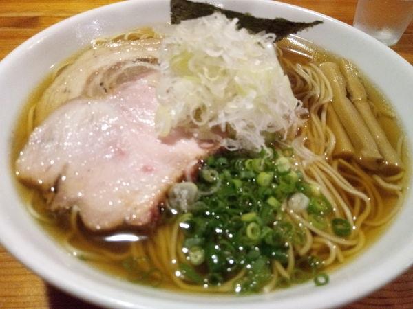 「煮干蕎麦醤油」@喜乃壺の写真
