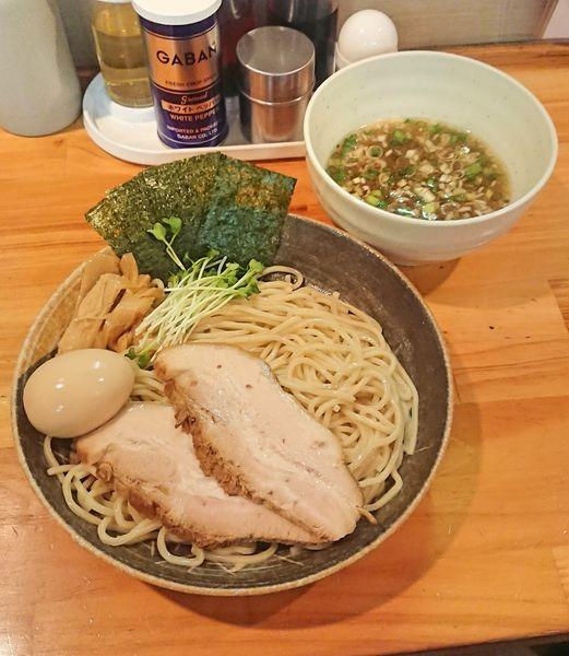 「特製塩つけ麺」@麺屋 くおんの写真