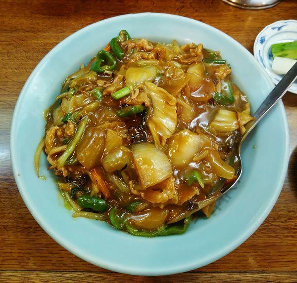 「カレー丼 650円」@中華料理 ハルピンの写真