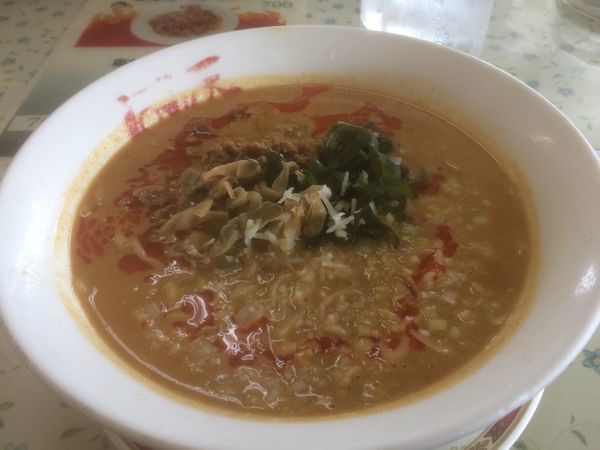 「担々麺」@中華料理 ぼん天 東村山店の写真
