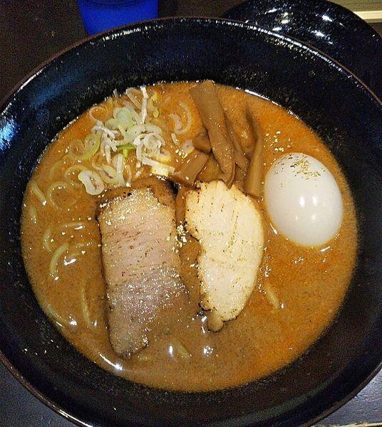 「味玉海老みそラーメン 920円」@ラーメン 行先は○の写真