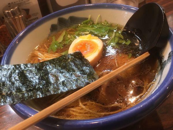 「柚子醤油らーめん」@AFURI 三軒茶屋店の写真